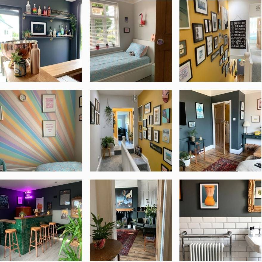 5 Home Interior Instagram Accounts We Love Colourful Edition